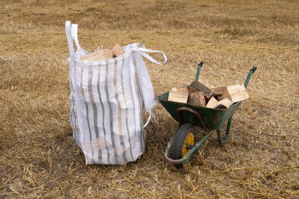 small log bag